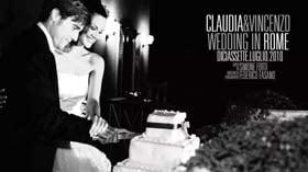 Claudia Trieste, Vincenzo Giuffrè, luxury wedding roma, Villa Miani, villa york, www.villayork.it